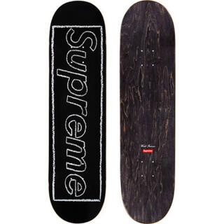 Supreme - 21SS Supreme/KAWS Chalk Logo Deck Black