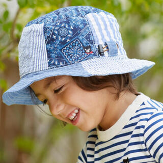 DOUBLE.B - 新品 ダブルビー リバーシブルハット 帽子