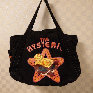 HYSTERIC MINI - ヒステリックミニ  ブラック トートバッグ