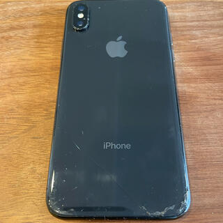 Apple - iPhone X 64GB  space gray