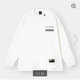ジーユー(GU)のGU MIHARAYASUHIRO ジーユー ミハラヤスヒロ ビッグT ロンT(Tシャツ/カットソー(七分/長袖))