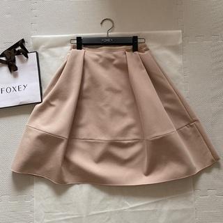 FOXEY - フォクシー サイドタックスカート バロン スカート 38