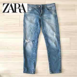 ZARA - 【美品】ZARA ダメージデニム スキニー