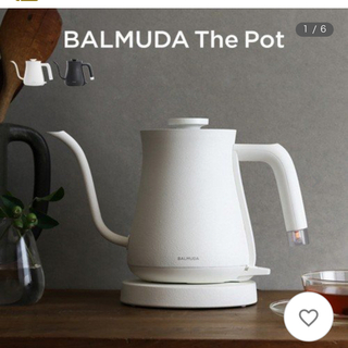 BALMUDA - BALMUDA The Pot White