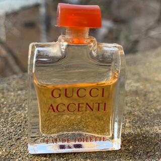 グッチ(Gucci)のGUCCI ACCENTI グッチ アチェンティ 香水 5ml 残量写真参照(香水(女性用))