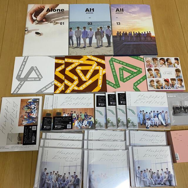 SEVENTEEN(セブンティーン)のSEVENTEEN CD アルバム  エンタメ/ホビーのCD(K-POP/アジア)の商品写真