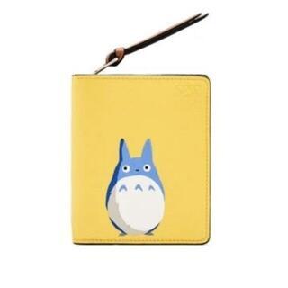 ロエベ(LOEWE)のロエベ×トトロ 2つ折り財布 中トトロ 黄色(その他)