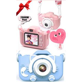 今買うならお得です!子供にお誕生日プレゼントしようか?可愛いキッズカメラだ(コンパクトデジタルカメラ)