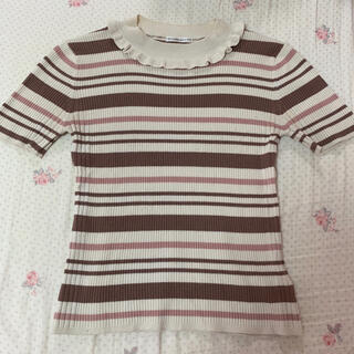 ウィルセレクション(WILLSELECTION)のWILLSELECTION ♡ マルチボーダーニット ♡(Tシャツ(半袖/袖なし))