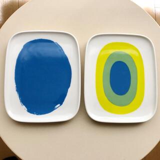 マリメッコ(marimekko)のマリメッコ 廃盤 メローニ他 プレート 2枚セット アラビア イッタラ(食器)