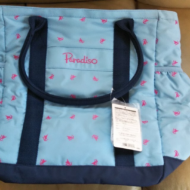 Paradiso(パラディーゾ)のパラディーゾ テニスラケット収納スペース付 テニスバッグ スポーツ/アウトドアのテニス(バッグ)の商品写真