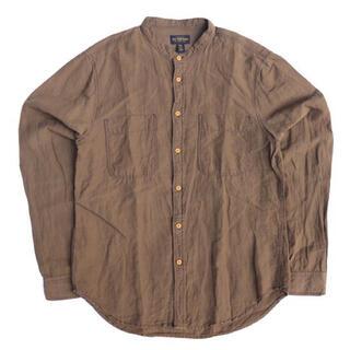 エルエルビーン(L.L.Bean)のCpo Provisions コットンリネンノーカラーシャツ(シャツ)