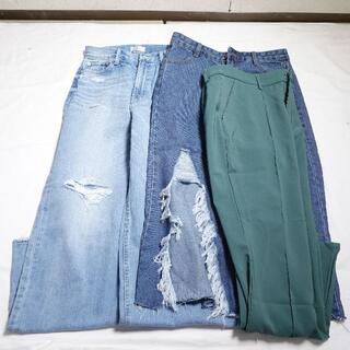 エヴリス(EVRIS)の■EVRIS... パンツ スカート デニム 緑 レディース 3点セット(セット/コーデ)