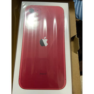 iPhone - iPhone 11 64GB (PRODUCT)RED SIMフリー