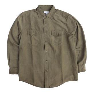 エルエルビーン(L.L.Bean)のCovington スエードシャツ  Suede Shirt(シャツ)