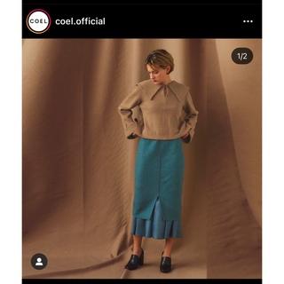 アパルトモンドゥーズィエムクラス(L'Appartement DEUXIEME CLASSE)の20,900円COELコエルループボア2WAYタイトスカート36(ひざ丈スカート)