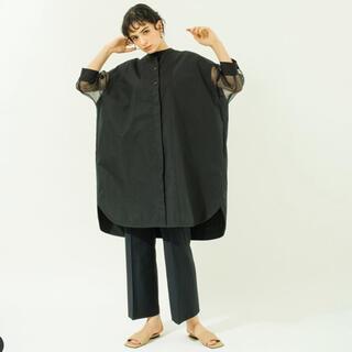 ENFOLD - YONFA◆定価約2万◆完売 seethrough shirt tunic