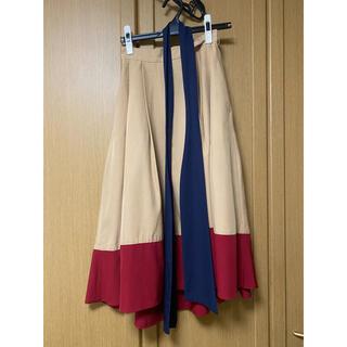 レディアゼル(REDYAZEL)のredyazel アシメントリースカート 膝下スカート(ロングスカート)