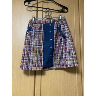 レディアゼル(REDYAZEL)のredyazel ミニスカート ツイード(ミニスカート)
