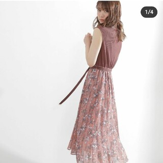 PROPORTION BODY DRESSING - 美品 proportionbodydressing ドッキングワンピ