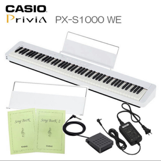 カシオ(CASIO)のCASIO 電子ピアノ Privia PX−S1000WE(電子ピアノ)