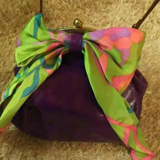 アッシュペーフランス(H.P.FRANCE)のSweet heart アシュペー購入 紫(ショルダーバッグ)
