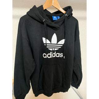 adidas - adidas アディダス パーカー ブラック 黒