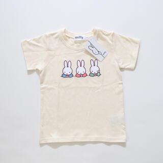 しまむら - しまむら miffy 刺繍 Tシャツ 120サイズ