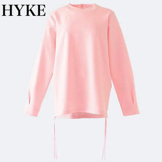 ハイク(HYKE)のHYKE  ハイク LONG-SLV TEE 2020SSサイドジップカットソー(Tシャツ(長袖/七分))