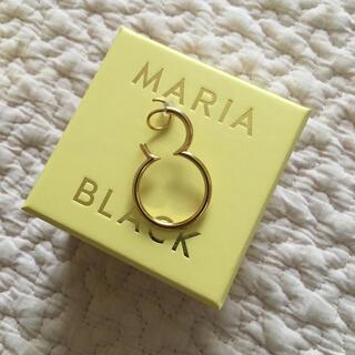 ユナイテッドアローズ(UNITED ARROWS)の新品未使用 MARIA BLACK マリアブラック OTTO TWIRL ピアス(ピアス)