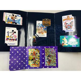 ディズニー(Disney)の再値下げ!ディズニーランド15周年記念 テレフォンカード 7枚セット(その他)