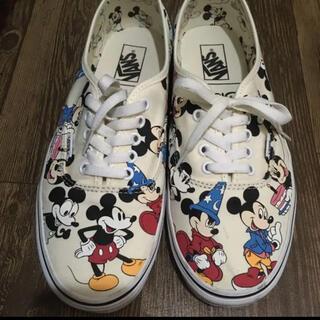 VANS - VANS 27.5 mickey Disney ディズニー コラボ