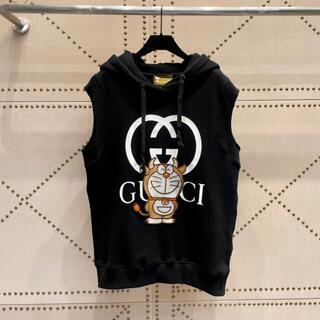 Gucci - ◆GUCCI◆DORAEMON xGGコラボ ノースリーブスウェットシャツ