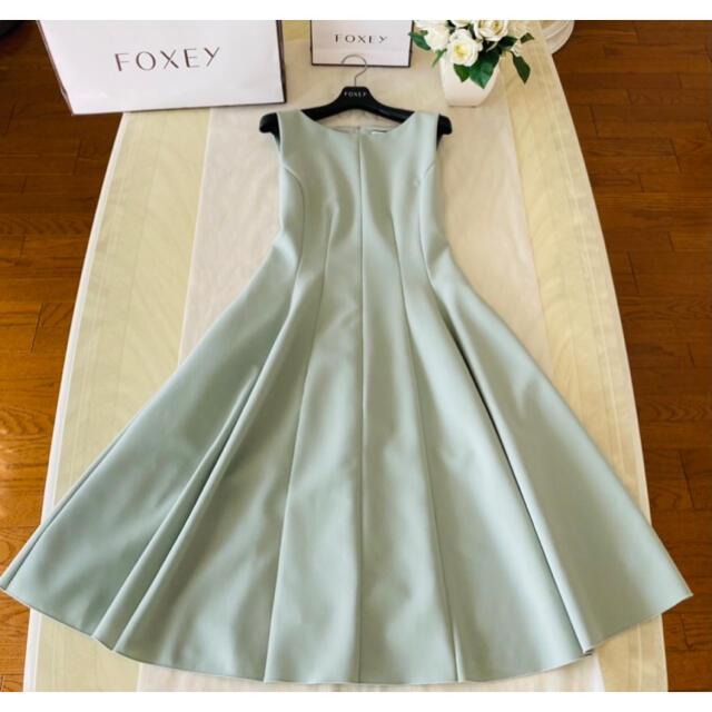 FOXEY(フォクシー)のおもち様 ご専用 フォクシー フレアドレス♡ ワンピース レディースのワンピース(ひざ丈ワンピース)の商品写真