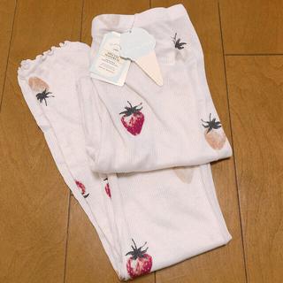 gelato pique - 新品未使用♡ジェラートピケ♡レギンス 苺柄 ピンク