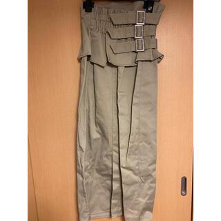 ムルーア(MURUA)のMURUA 2wayコルセットスカート(ロングスカート)