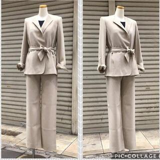 マックスマーラ(Max Mara)のマックスマーラ ♡ パンツスーツ ♡ ベージュ(スーツ)