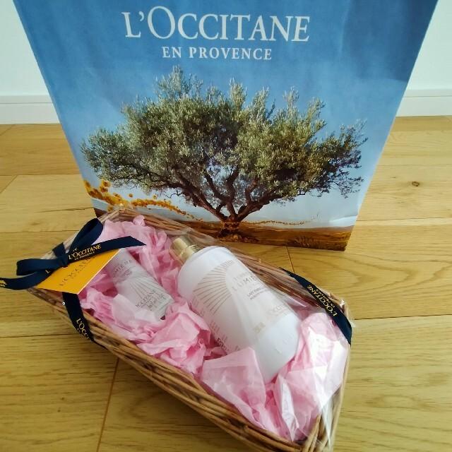 L'OCCITANE(ロクシタン)のロクシタン テール ド ルミエール ボディミルク250、ハンドクリームセット50 コスメ/美容のボディケア(ハンドクリーム)の商品写真