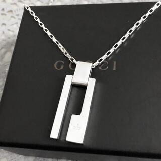 Gucci - 正規品 グッチ ネックレス シルバー G プレート SV925 カットアウト 8