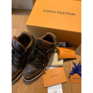 LOUIS VUITTON - ★送料込★LOUIS VUITTON 20AW トレイナーライン表記サイズ8.5