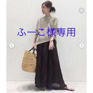 アパルトモンドゥーズィエムクラス(L'Appartement DEUXIEME CLASSE)のアパルトモン ドゥーズィエムクラス col Pierrot スカート AP 美品(ロングスカート)