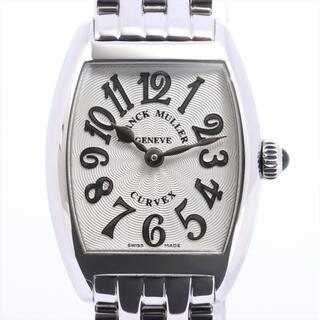 フランクミュラー(FRANCK MULLER)のフランクミュラー トノーカーベックス レリーフ SS   レディース 腕時(腕時計)