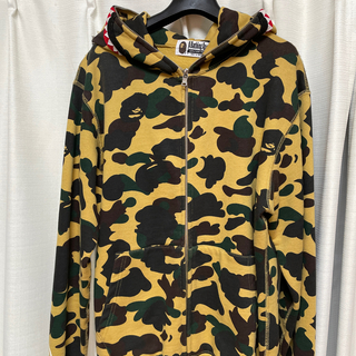 A BATHING APE - A・BATHING APE シャークパーカー