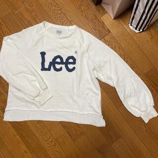 リー(Lee)のLee スウェット トレーナー 白色(トレーナー/スウェット)