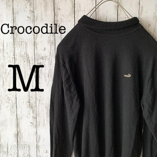 クロコダイル(Crocodile)の【クロコダイル×タートルネック】古着 90s メンズ トップス ニット セーター(ニット/セーター)