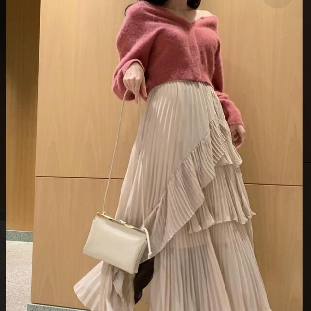 snidel(スナイデル)の【土日限定価格】シアーボリュームプリーツスカート レディースのスカート(ロングスカート)の商品写真