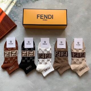 FENDI - 激売れ! FENDIフェンディ ソックス 5セット