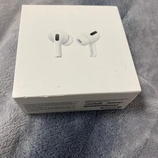 Apple - 偽物は買わないで下さい。 確実正規品 airpods pro apple