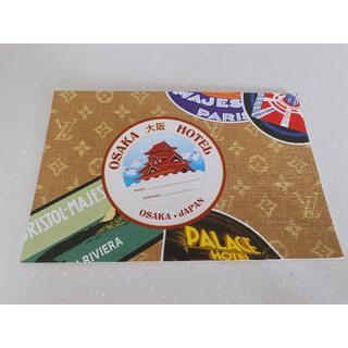 ルイヴィトン展 ノベルティ ポストカード 非売品 LOUIS VUITTON(使用済み切手/官製はがき)