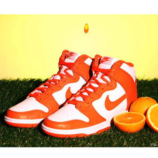 "NIKE - 28.0 NIKE DUNK HIGH RETRO ""ORANGE BLAZE"""